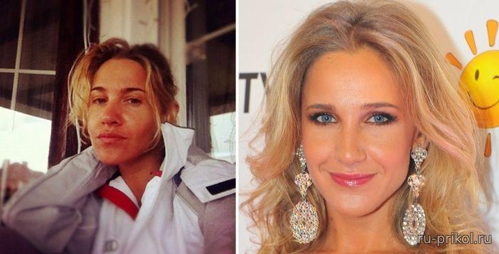 Актеры без макияжа русские