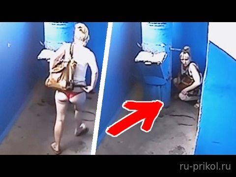 видео скрытая камера подъезд