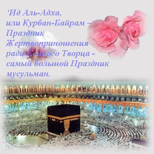 Фото открыток курбан байрам