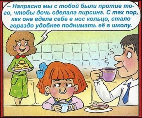 Детская сообразительность и непосредственность.